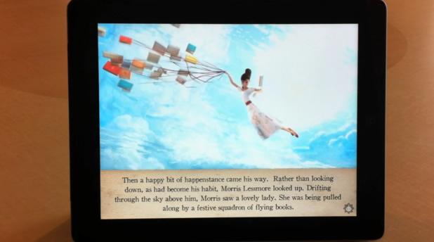 Teaser Superbe Appli Ipad - Flying Books of Mr. Morris Lessmore 2