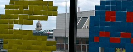 Bataille de post-it entre Ubisoft et Bnp 9