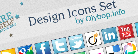 Pack Icônes design réseaux sociaux #2 10