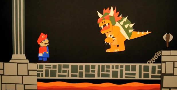 Les aventures de Mario en Version Papier 2