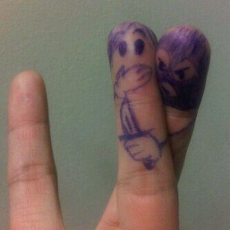 50 meilleurs fingers art 6