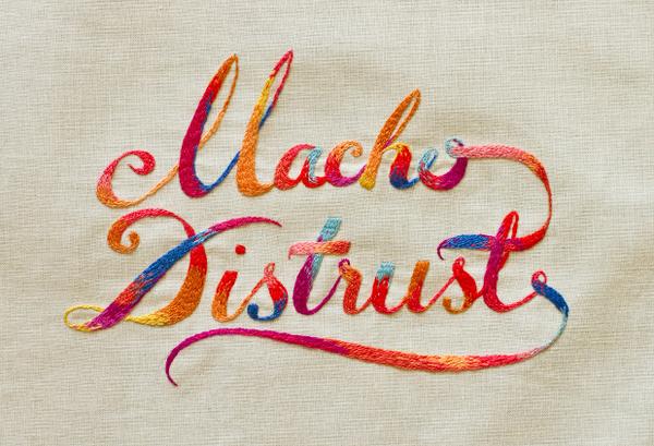 typographie colorée en broderie 14