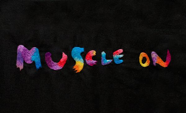 typographie colorée en broderie 15