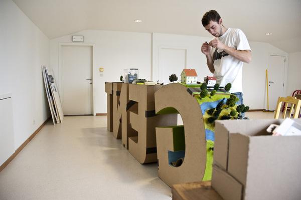 Travail typographique Gent Scheppende Stad 5