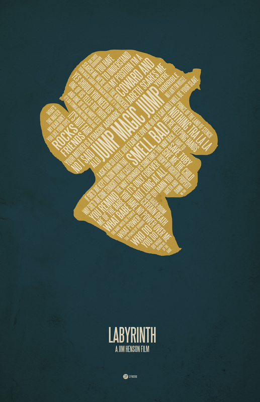 Posters de films en typographie 2