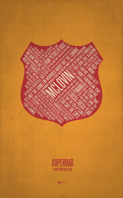 Posters de films en typographie 11
