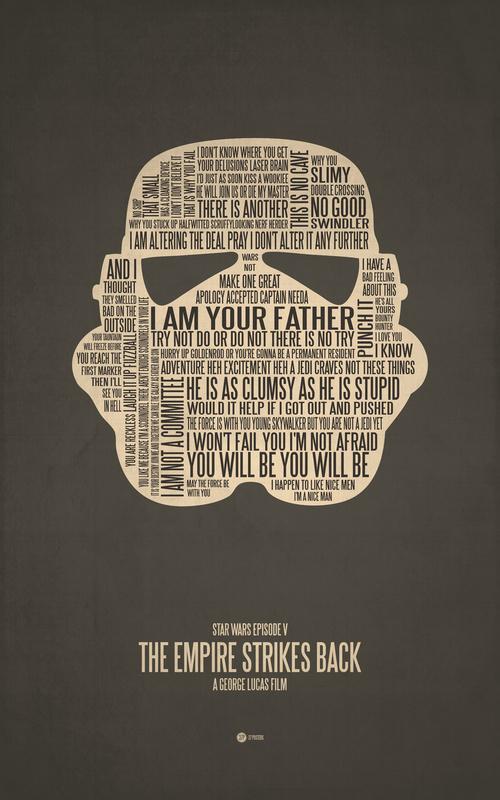 Posters de films en typographie 12
