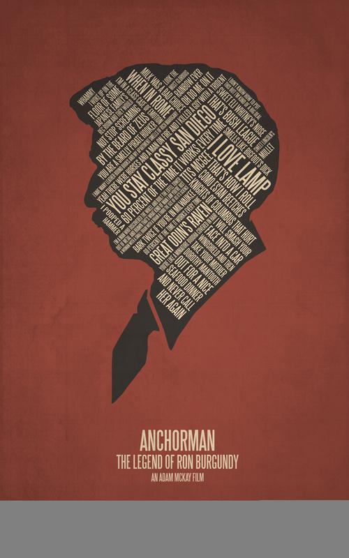 Posters de films en typographie 13