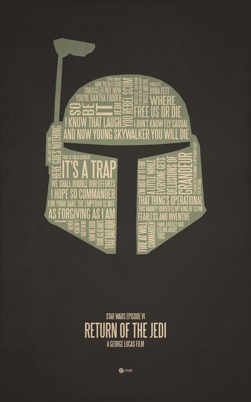 Posters de films en typographie 4