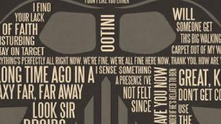 Posters de films en typographie 1