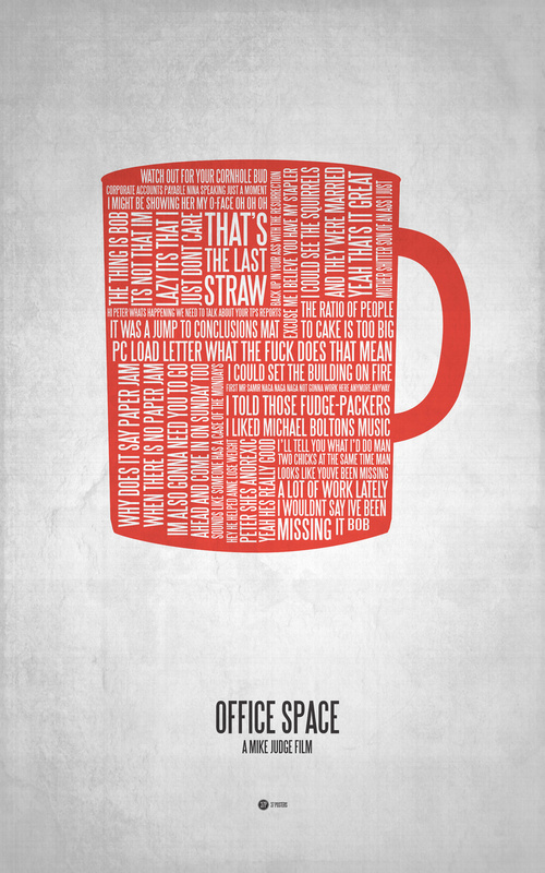 Posters de films en typographie 6