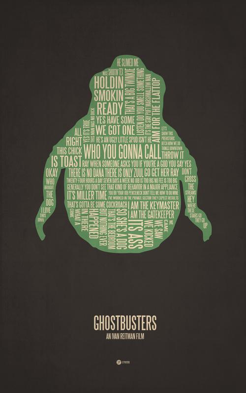 Posters de films en typographie 7