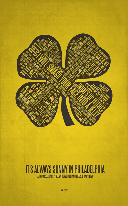 Posters de films en typographie 8