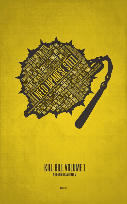 Posters de films en typographie 9