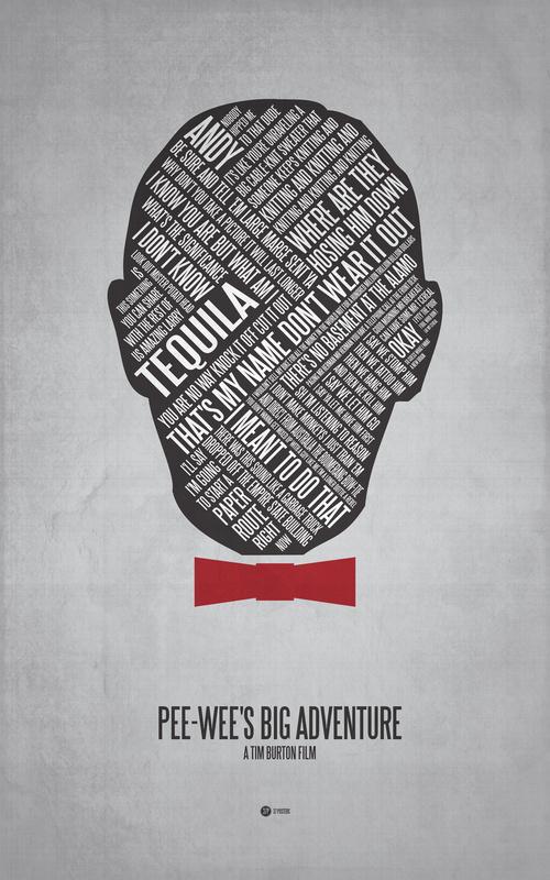 Posters de films en typographie 10