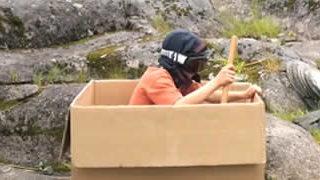 Court métrage - Les aventures d'un simple carton