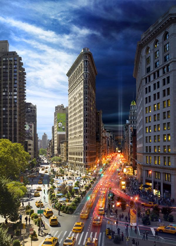 7 photos de NYC de nuit et de jour en même temps 2