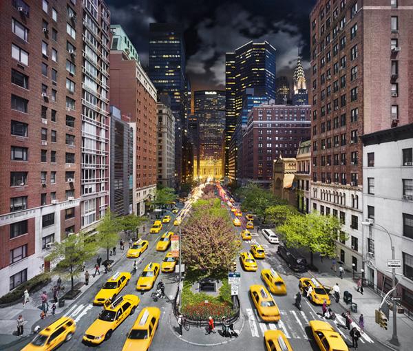 7 photos de NYC de nuit et de jour en même temps 7