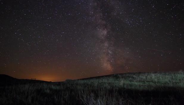 Superbe TimeLaspe - Tempest Milky Way 2