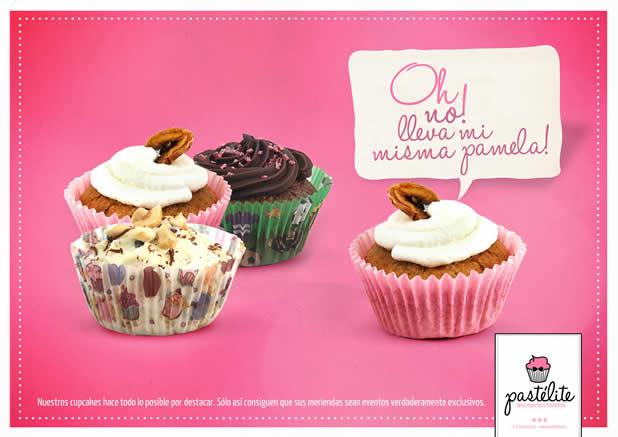 20+ publicités avec des cupcakes 20