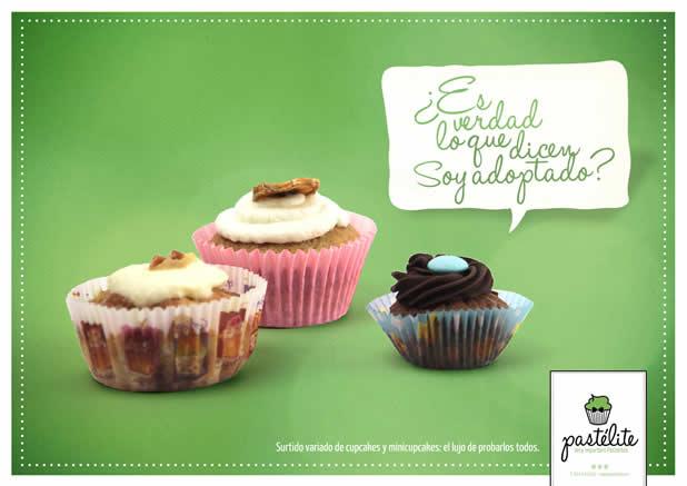 20+ publicités avec des cupcakes 18