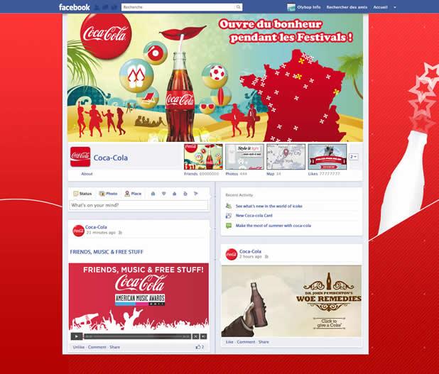 Les nouveaux profils des plus grandes marques présentes sur Facebook 3