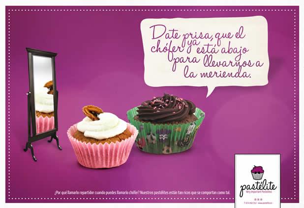 20+ publicités avec des cupcakes 17