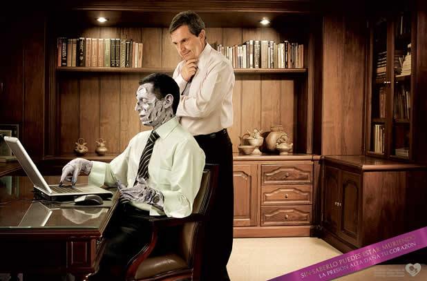 40 publicités avec des zombies 25