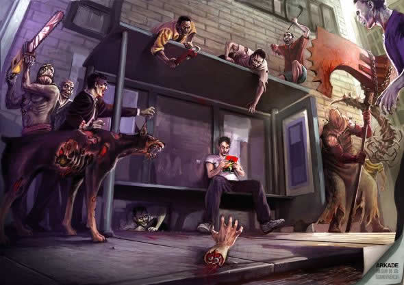 40 publicités avec des zombies 24