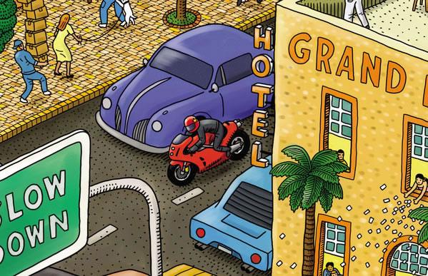 Ducati for ANCMA : une illustration complète 6