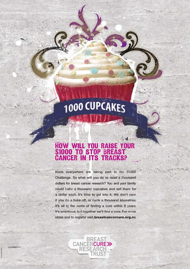 20+ publicités avec des cupcakes 16