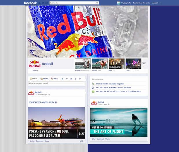 Les nouveaux profils des plus grandes marques présentes sur Facebook 7