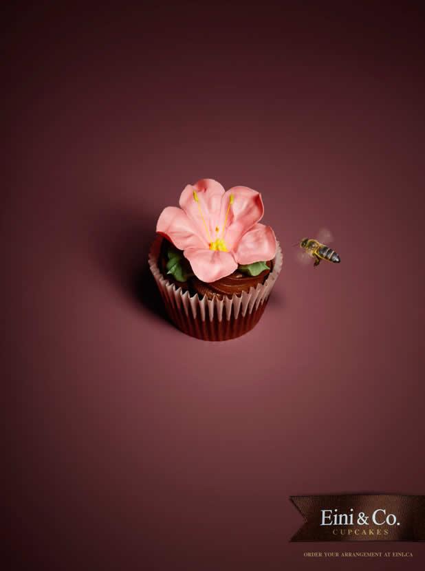 20+ publicités avec des cupcakes  14