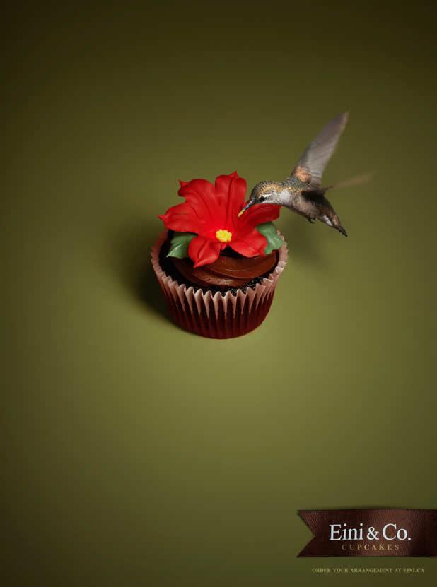 20+ publicités avec des cupcakes 13