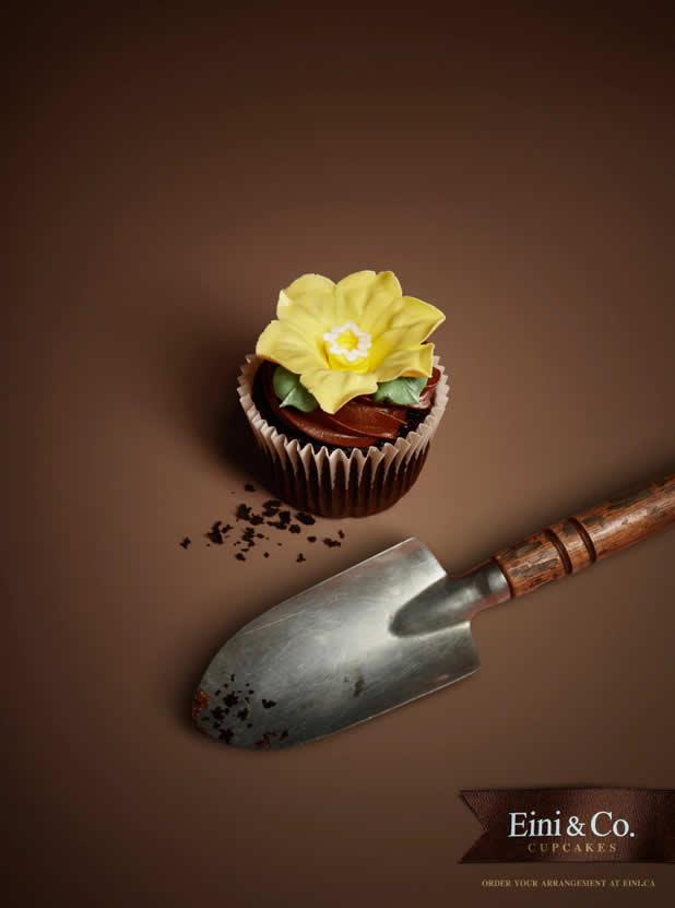 20+ publicités avec des cupcakes  11