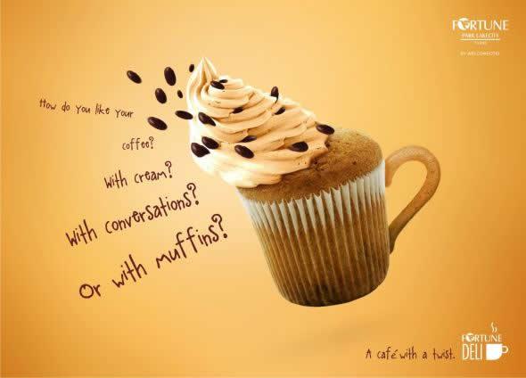20+ publicités avec des cupcakes 10