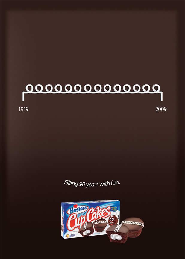 20+ publicités avec des cupcakes 8
