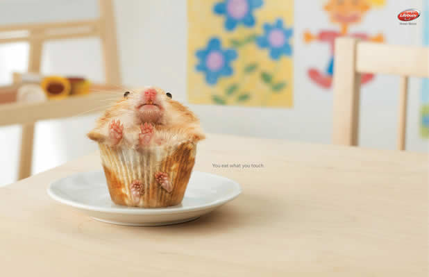 20+ publicités avec des cupcakes 7