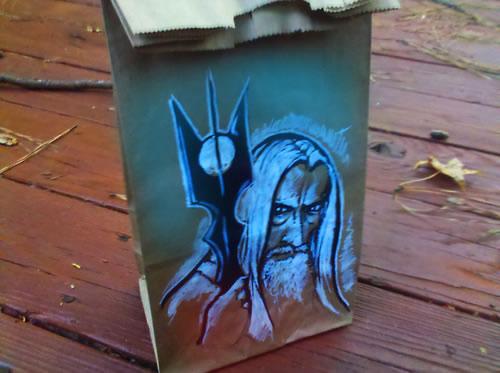 De beaux dessins sur des sacs en papier 17