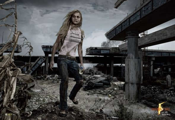 40 publicités avec des zombies 13