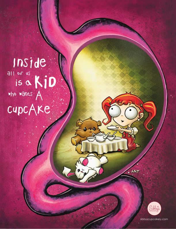 20+ publicités avec des cupcakes  5