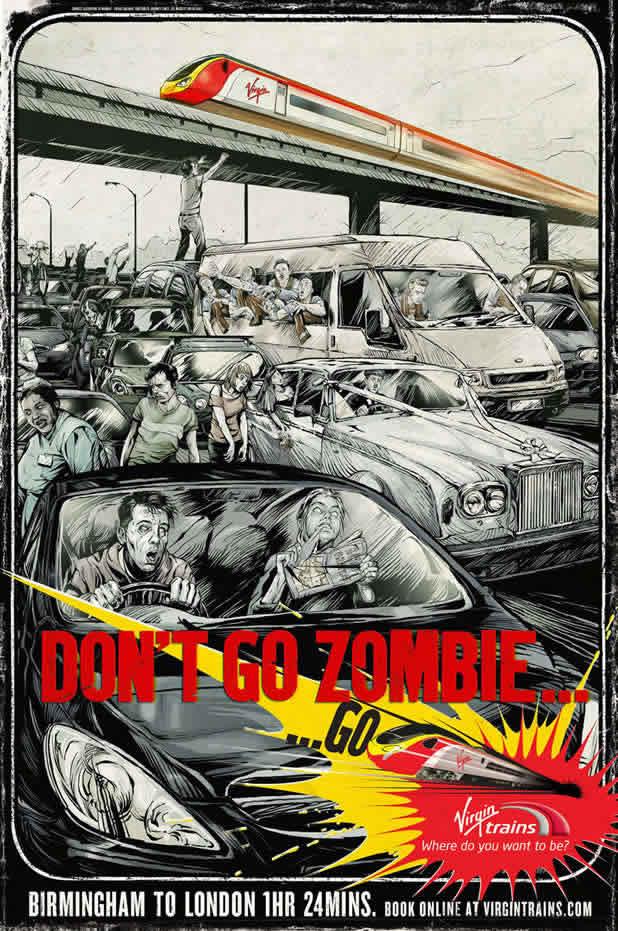 40 publicités avec des zombies 6