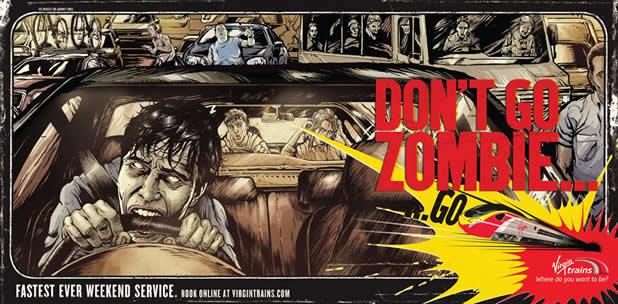 40 publicités avec des zombies 5