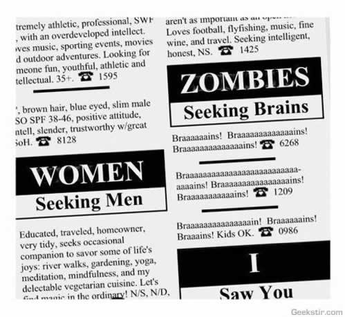 40 publicités avec des zombies 3