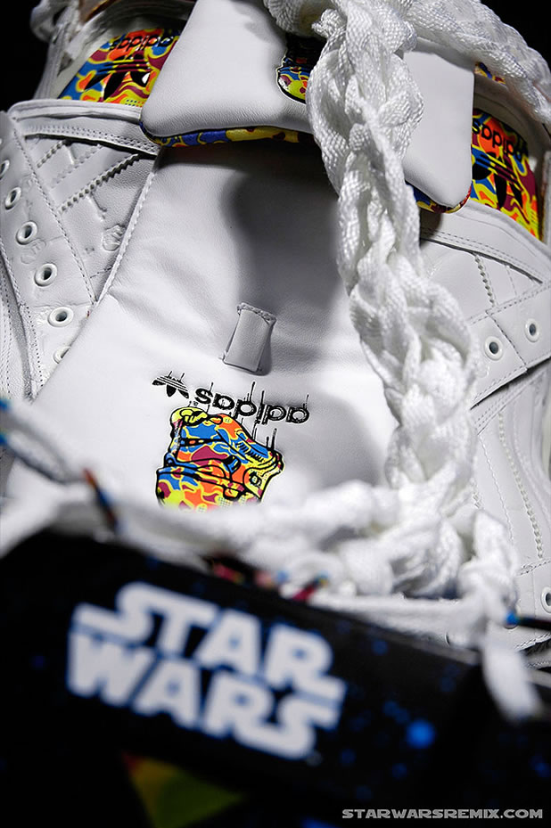 Un Casque Custom Design Stormtrooper Adidas 2