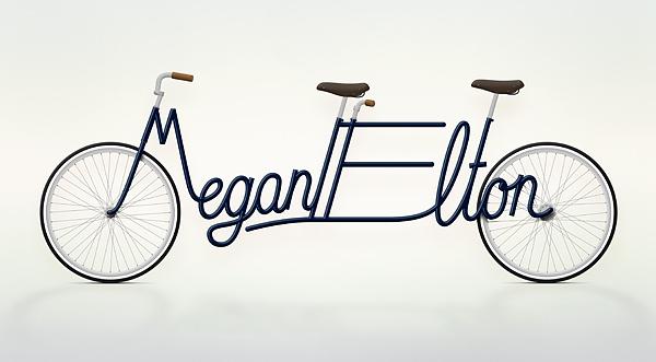 Write a Bike - Vélos typographiques 4