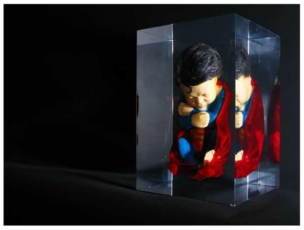 Les Foetus de Superheros par Alexandre Nicolas 3