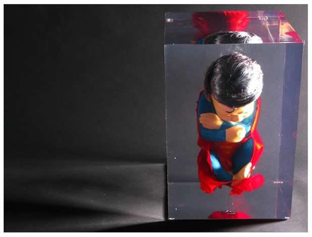 Les Foetus de Superheros par Alexandre Nicolas 2