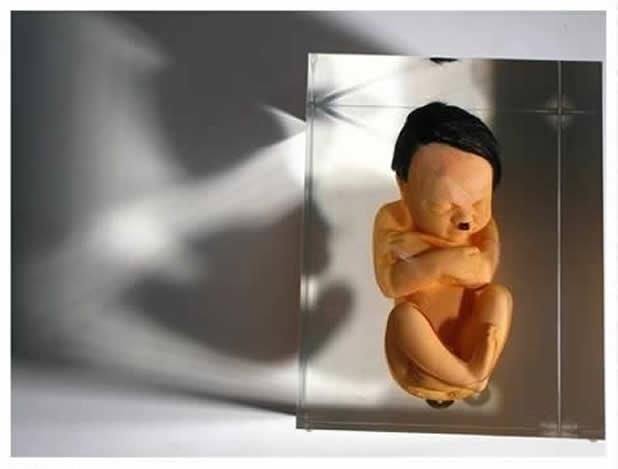 Les Foetus de Superheros par Alexandre Nicolas 15