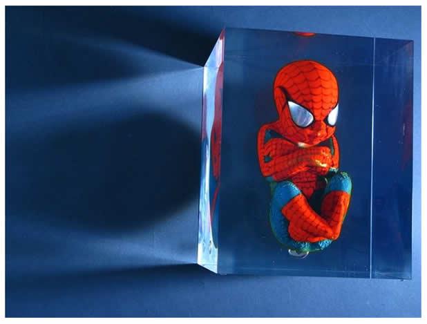 Les Foetus de Superheros par Alexandre Nicolas 13